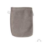 Waschhandschuh Grau Small