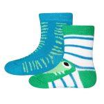 Socken 2er Pack Krokodil 19/22