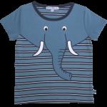 Shirt Mit Streifen U. Elefant 86/92