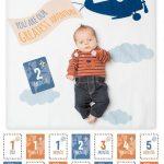 Swaddle-Blanket & Karten Set Greatest Adventure