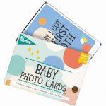 Baby-Fotokarten Cotton Candy
