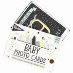 Baby-Fotokarten Over The Moon
